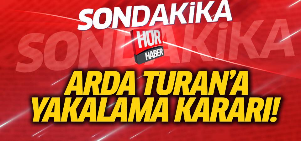 Arda Turan ifade verdi