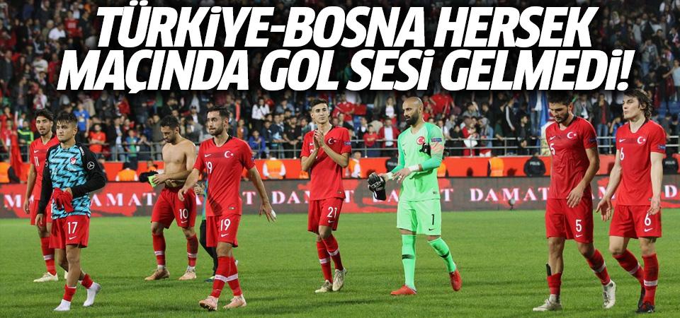 A Milli Takım, Bosna'yla berabere kaldı