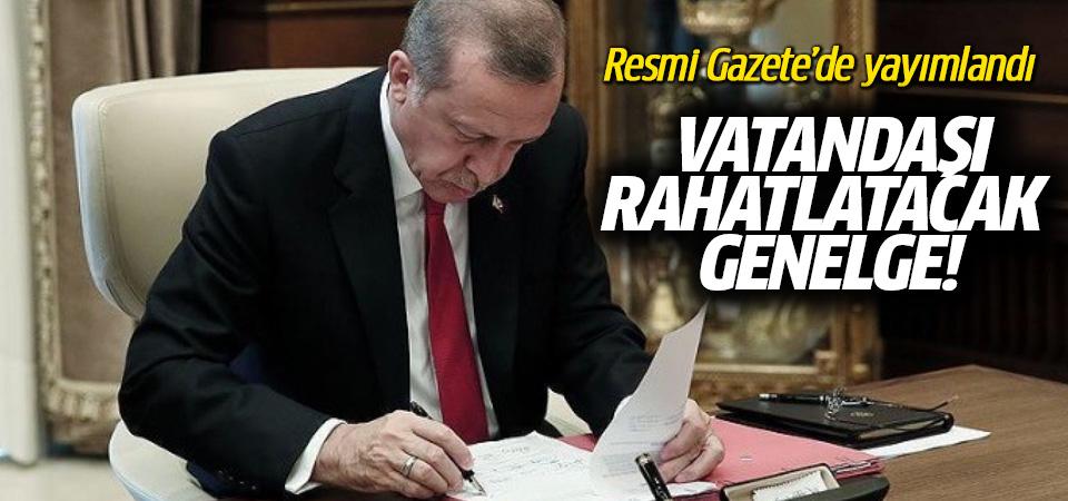 Cumhurbaşkanı Erdoğan'dan bir genelge daha