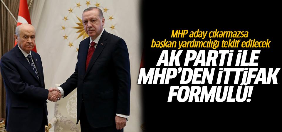 AK Parti ile MHP'den ittifak formulü!