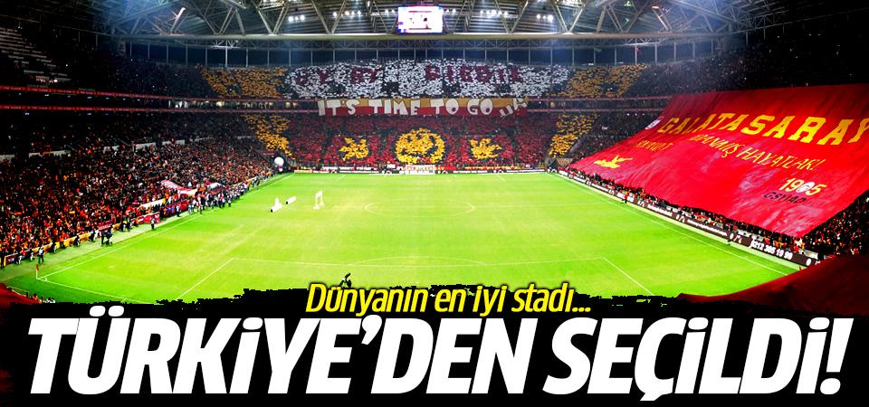 Dünyanın en iyi stadı Türkiye'den seçildi!
