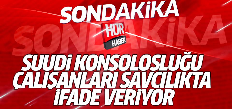 Suudi konsolosluğu çalışanı 15 Türk ifade veriyor