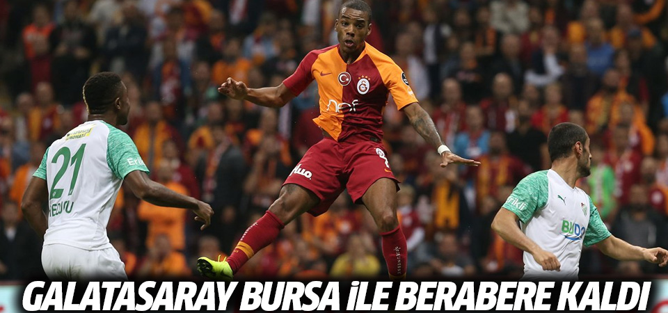 Galatasaray Bursaspor maçı özeti ve golleri