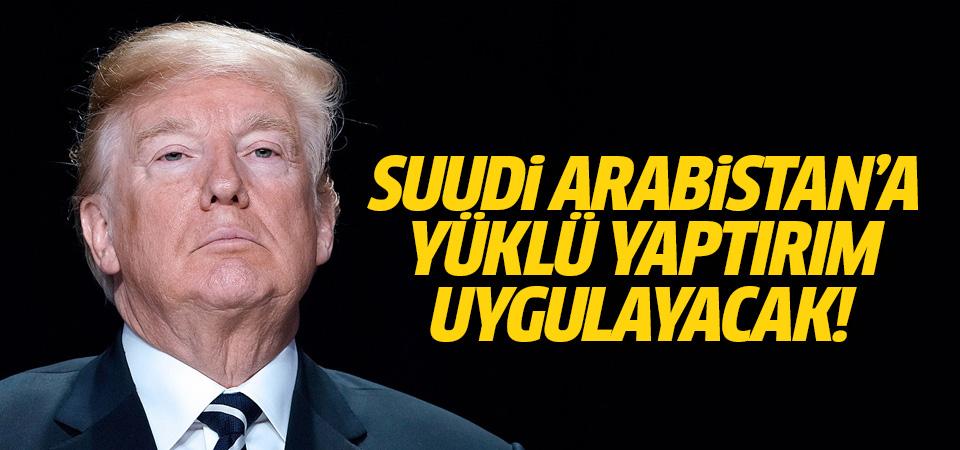Trump: Silah anlaşmasını koruyup, Suudi Arabistan'a 'bir tür yaptırım' uygulamayı tercih edeceğim