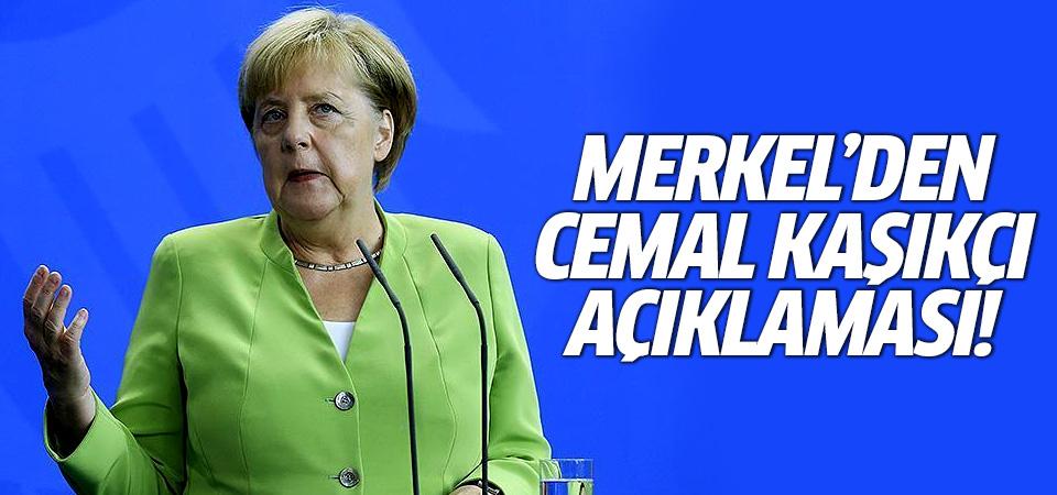 Merkel'den Cemal Kaşıkçı açıklaması