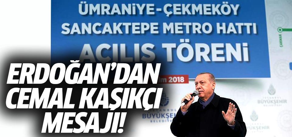 Erdoğan'dan Cemal kaşıkçı mesajı!
