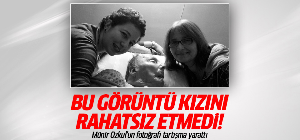 Münir Özkul'un fotoğrafı tartışma yarattı