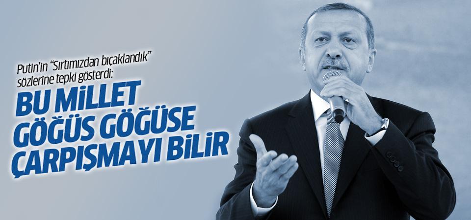 Erdoğan, Putin'in 'Sırtımızdan bıçaklandık' sözlerine cevap verdi