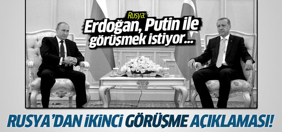 Kremlin'den bir görüşme açıklaması daha!
