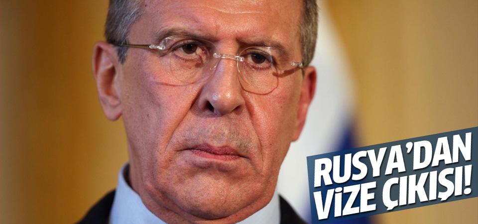 Rusya Türkiye'ye vize serbestini askıya alıyor