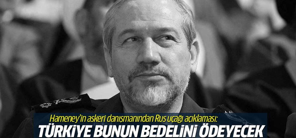 İran'lı komutan: Türkiye kesinlikle zarar görecek