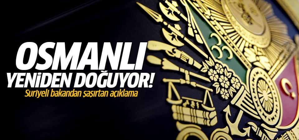 'Osmanlı yeniden doğuyor'