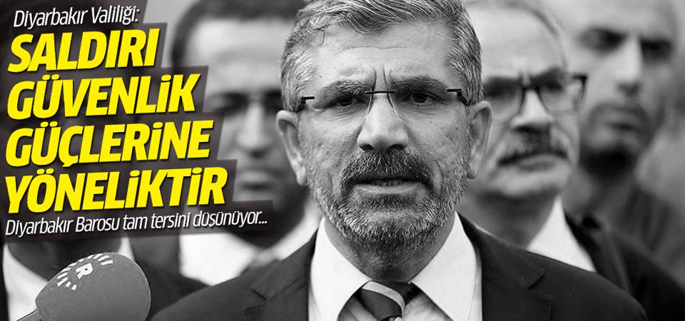 Diyarbakır Valiliği: Saldırı güvenlik güçlerine yönelik