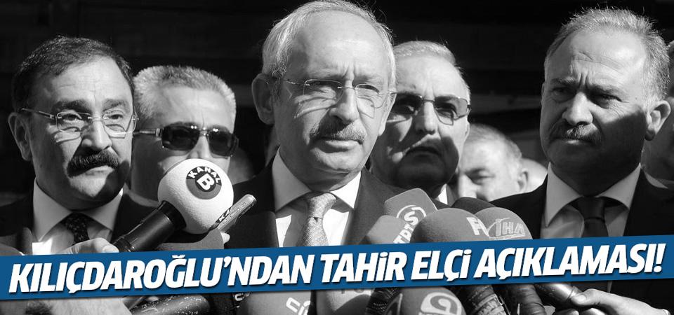 Kılıçdaroğlu Tahir Elçi tweeti