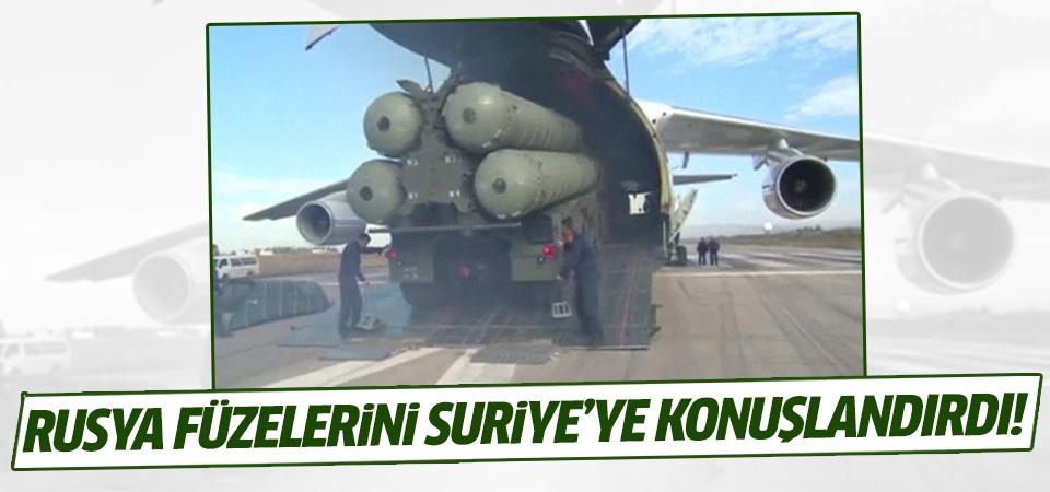 Rusya füzelerini Suriye'ye konuşlandırdı