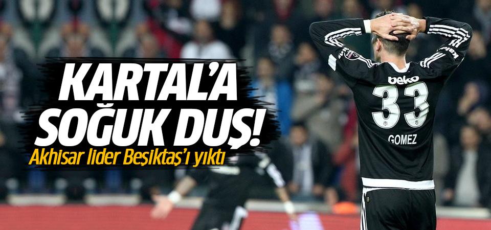 Akhisar'dan Beşiktaş'a ağır darbe! 2-0