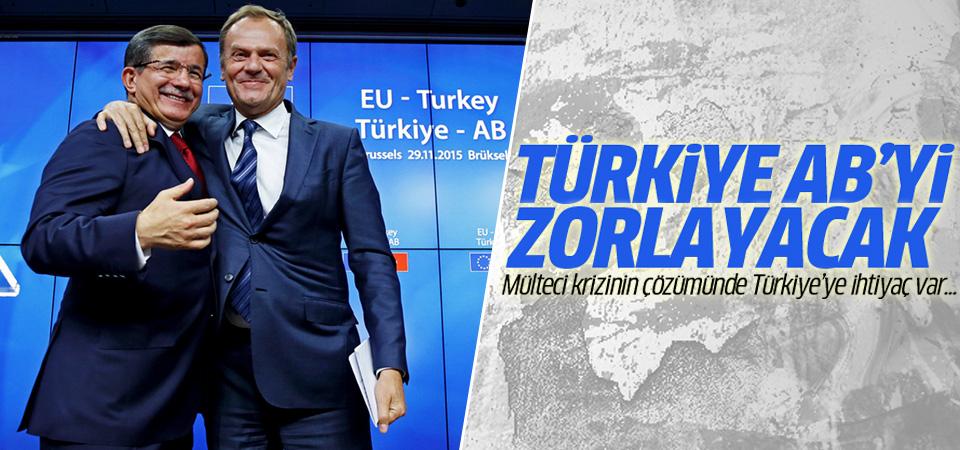 Türkiye mülteci konusunda AB'yi zorlayacak