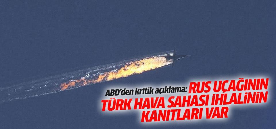 ''Rus uçağının Türk hava sahası ihlalinin kanıtları var''