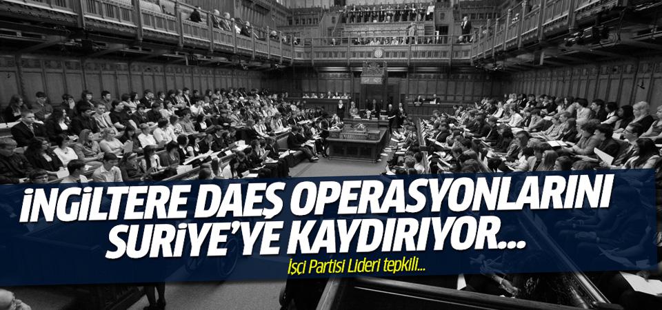 İngiltere, DAEŞ operasyonlarını Suriye'ye doğru genişletiyor