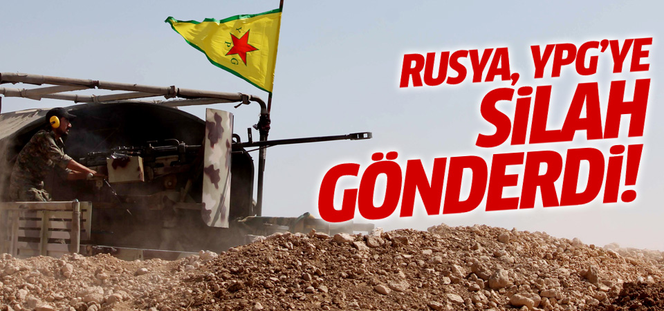 Rusya, YPG'ye silah gönderdi