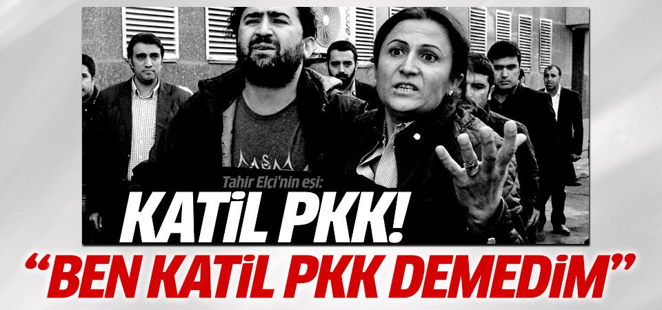 Tahir Elçi'nin eşi: Katil PKK demedim