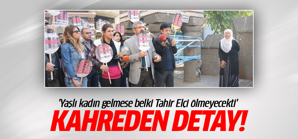 Tahir Elçi cinayetinde kahreden detay!