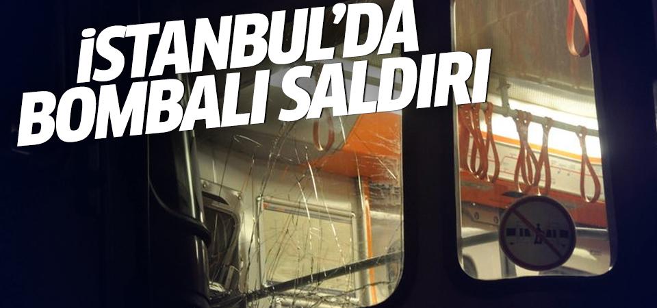 İstanbul Bayrampaşa'da patlama!
