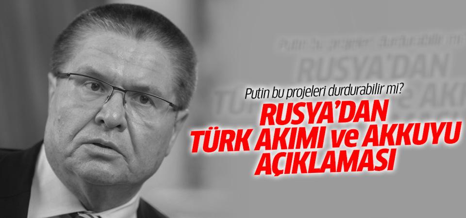 Rusya'dan Türk Akımı ve Akkuyu açıklamaları