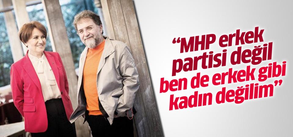 Meral Akşener: MHP erkek partisi değil
