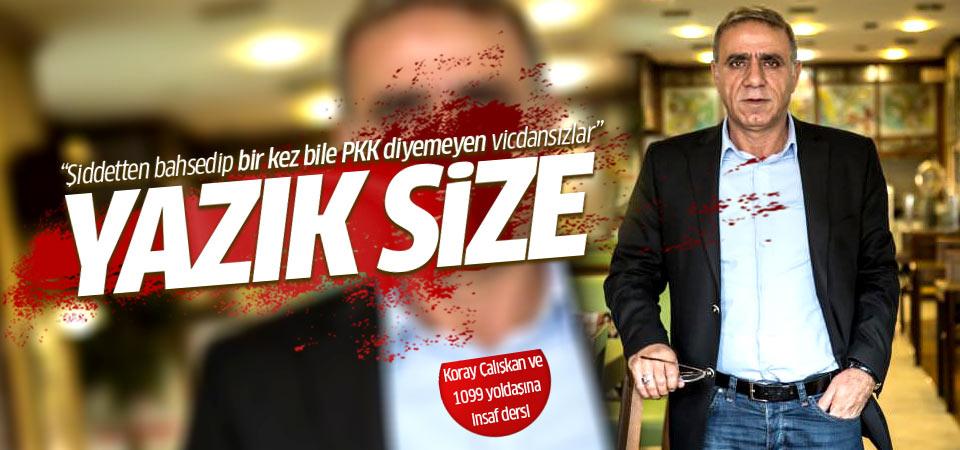 İlhami Işık'tan 'PKK' bile diyemeyen akademisyenlere tepki