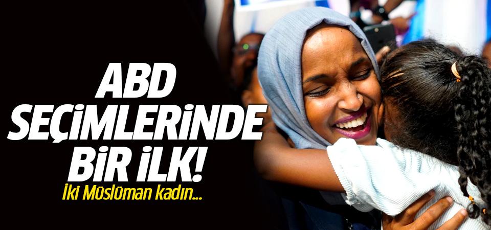 ABD seçimlerinde bir ilk! İki Müslüman kadın ABD Temsilciler Meclisine girdi…