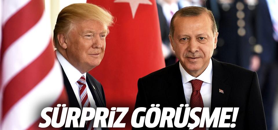 Cumhurbaşkanı Erdoğan, Trump ile görüştü…