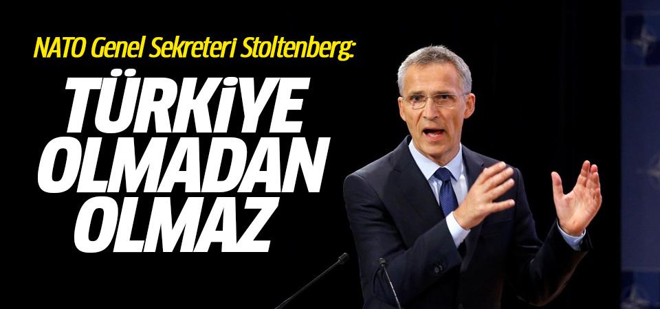 Nato Genel Sekreteri Stoltenberg Türkiye ile ilgili tüm dünyayı şoke edici bir açıklamada bulundu.