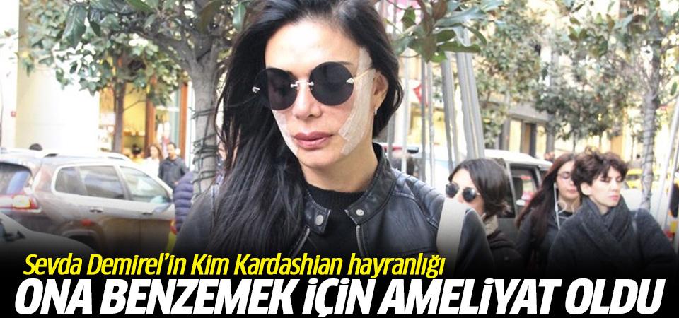 Sevda Demirel'in yüzüne noldu? Kim Kardashian'a benzemek için...