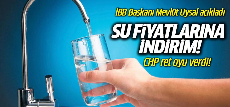 1 Ocak'tan itibaren geçerli: İstanbul'da su fiyatında yüzde 15 indirim