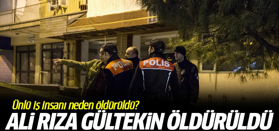 Ünlü iş adamı Beşiktaş'ta öldürüldü Ali Rıza Gültekin neden öldürüldü