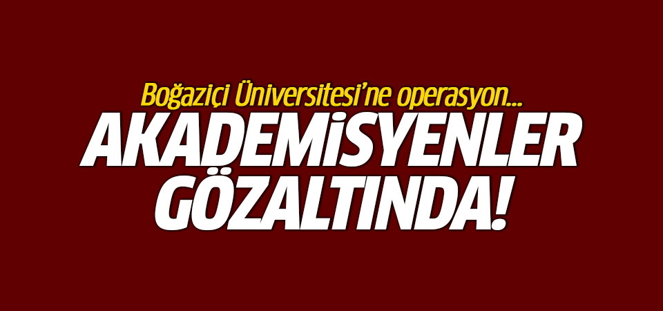 Osman Kavala operasyonu: Akademisyenler gözaltında