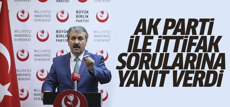 AK Parti ile ittifak yapacak mı?
