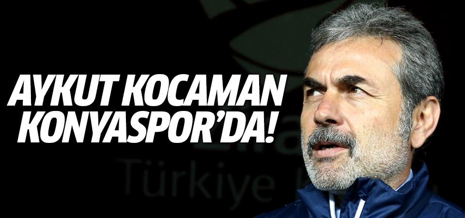 Aykut Kocaman Konyaspor'da! 2,5 yıllık sözleşme