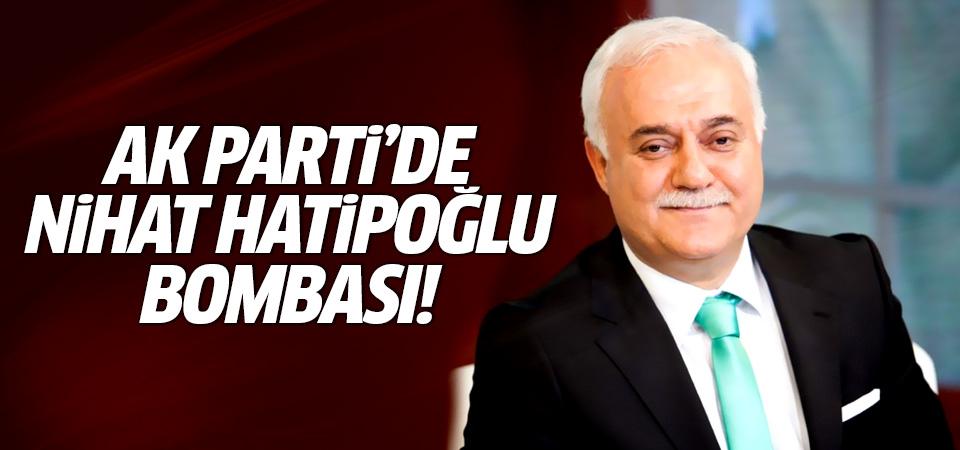 AK Parti'de Nihat Hatipoğlu bombası! Nihat Hatipoğlu aday olacak mı?