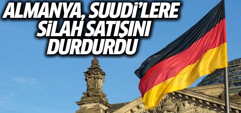 Almanya, Suudi'lere silah satışlarını durdurdu