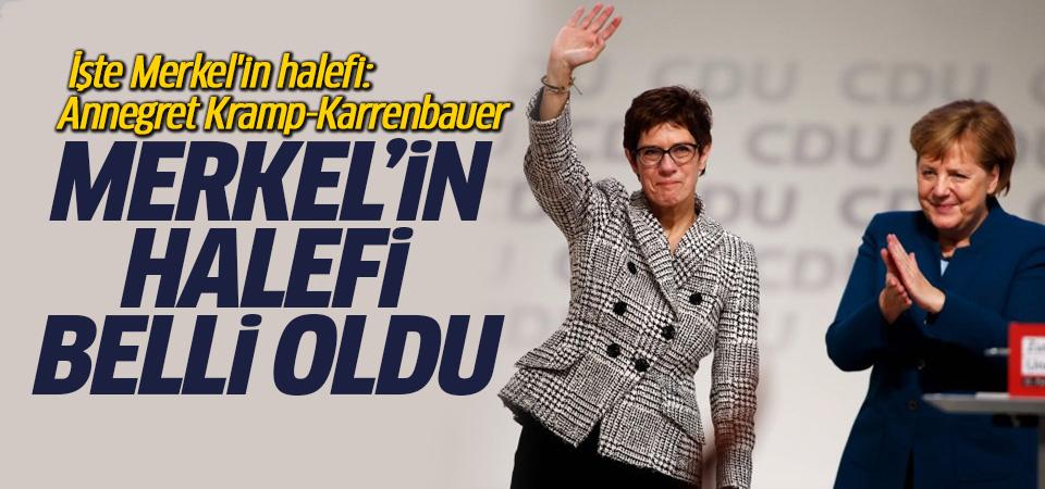 Annegret Kramp-Karrenbauer, Merkel'in halefi oldu!