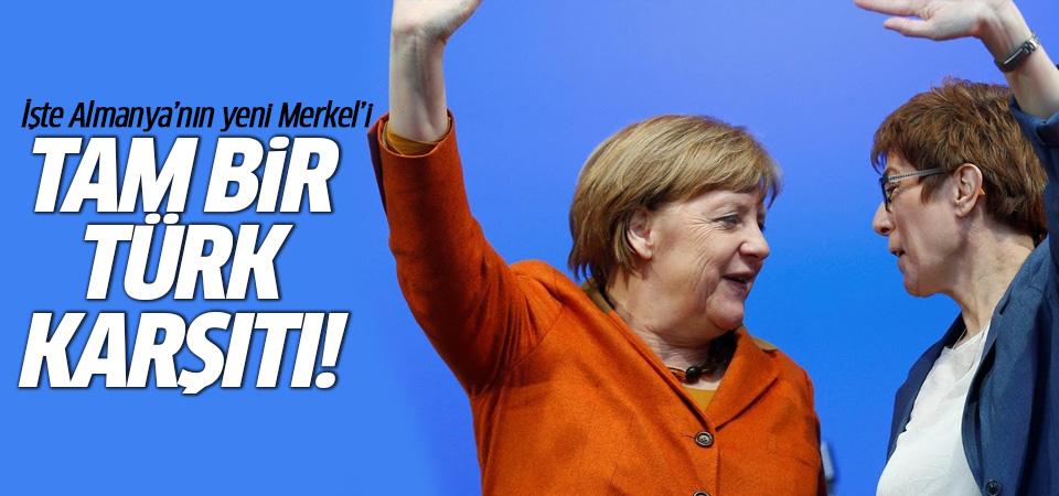 Merkel'in Türk karşıtı halefi: Annegret Kramp-Karrenbauer