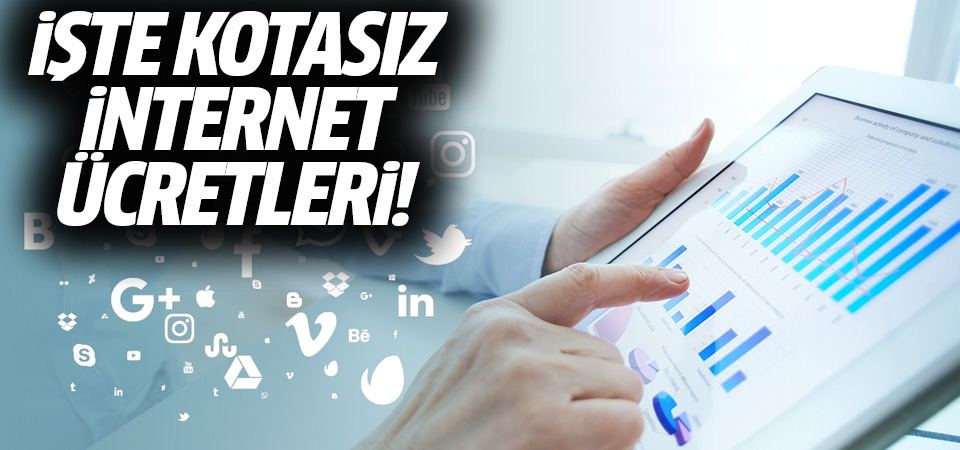 İşte kotasız internet ücretleri! Türk Telekom kotasız internet tarifelerini açıkladı