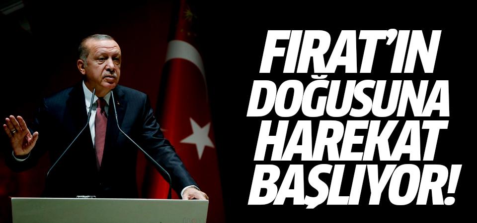 Erdoğan: Fırat'ın Doğusuna harekat başlıyor