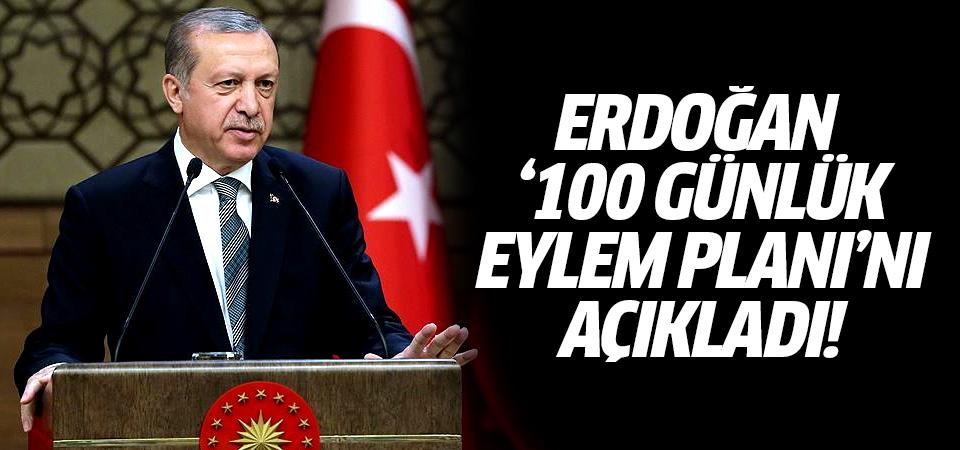 Erdoğan yeni '100 Günlük Eylem Planı'nı açıkladı