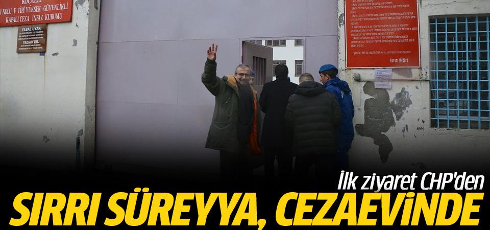 Sırrı Süreyya Önder'e ilk ziyaret CHP'den