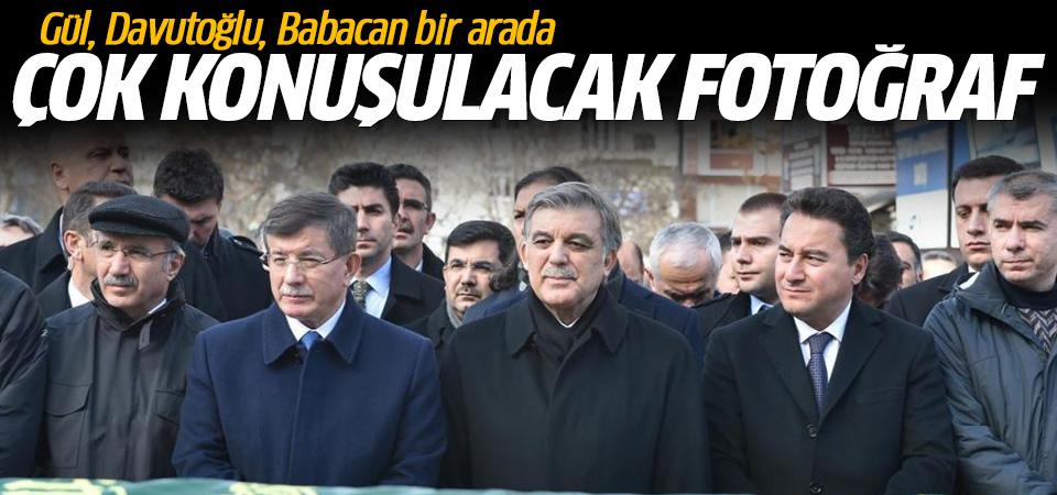 Abdullah Gül, Davutoğlu, Babacan bir arada