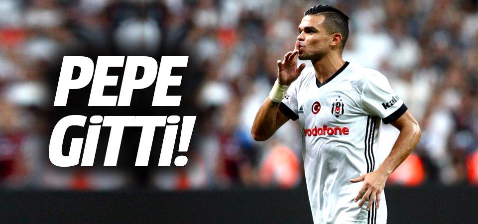 Beşiktaş'ta flaş ayrılık! Pepe kovuldu