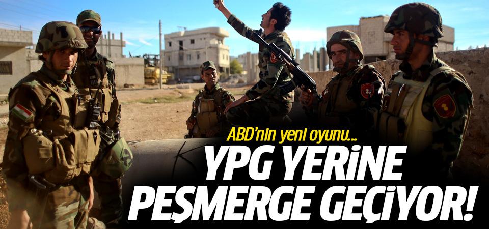 ABD'nin yeni oyunu: YPG yerine Peşmerge geçiyor!